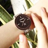 GARMIN / 010-02384-C0 / Lily 智慧腕錶 經典款 時尚優雅 小牛皮皮革手錶 暗棕深古銅色 35mm