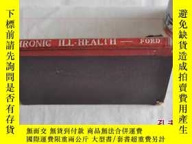 二手書博民逛書店1950年,英文原版,慢性疾病,chronic罕見ill hea
