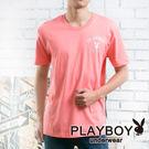【PLAYBOY】流行兔頭彩色短袖T恤_(粉紅) P1030 P1830