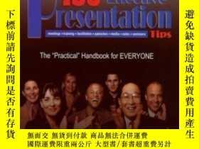 二手書博民逛書店136罕見Effective Presentation TipsY307751 Tony Jeary; Dav