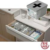 【日本製】【Inomata】日本製 小物收納盒 短型 灰色(一組:10個) SD-13685 - Inomata