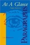二手書博民逛書店 《At A Glance Paragraphs》 R2Y ISBN:0618542272│Brandon