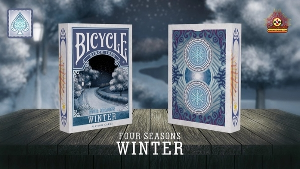 【USPCC 撲克】Bicycle Four Seasons Winter Playing Cards  四季 冬