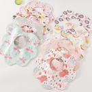 口水巾嬰幼兒可旋轉防水口水巾