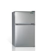 聲寶100公升雙門冰箱SR-B10G