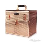 專業手提美甲工具箱大容量收納盒紋繡化妝跟妝師箱子美睫 黛尼時尚精品