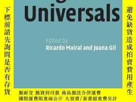 二手書博民逛書店Linguistic罕見UniversalsY256260 Mairal, Ricardo (edt)  Gi