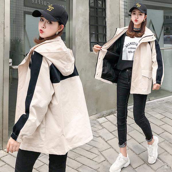 絕版出清 韓國學院風寬鬆短款百搭工裝休閒單品長袖外套
