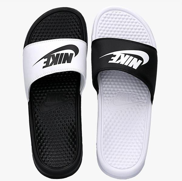 NIKE系列-Benassi JDI Mismatch男女款黑白色陰陽拖-NO.818736011