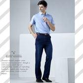 【Emilio Valentino】范倫鐵諾舒適樂活休閒牛仔褲_藍/刷白