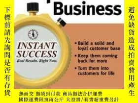 二手書博民逛書店Instant罕見Repeat Business (instan
