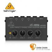 Behringer 耳朵牌 迷你 耳機分配器/擴大器 MICROAMP HA400【立體聲 / 四輸出 / 耳擴】