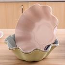 乾果盤 果盤創意現代客廳歐式家用水果盤干果盤辦公室桌面零食盤糖果盤【快速出貨八折鉅惠】