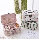熱賣韓版多功能PU首飾盒 飾品收納盒 復古珠寶便攜式飾品盒
