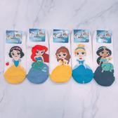 迪士尼 Disney 公主襪 迪士尼公主 白雪公主 睡美人 茉莉 貝兒 美人魚 短襪 船型襪