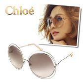 【Chloe太陽眼鏡】CE114S-724-雜誌型錄款墨鏡(蜜桃色)
