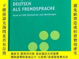 二手書博民逛書店PONS罕見: Deutsch als Fremdsprache