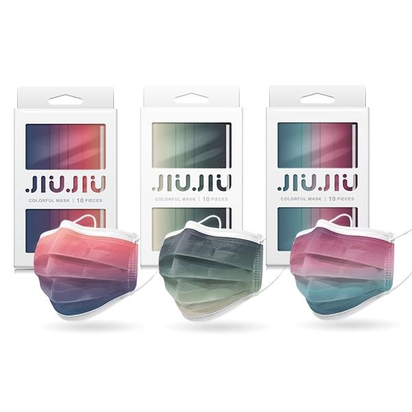 親親JIUJIU 印花三層防護口罩(10入) 款式可選【小三美日】