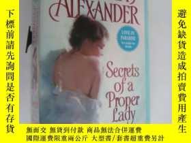 二手書博民逛書店secrets罕見of a proper ladyY146810