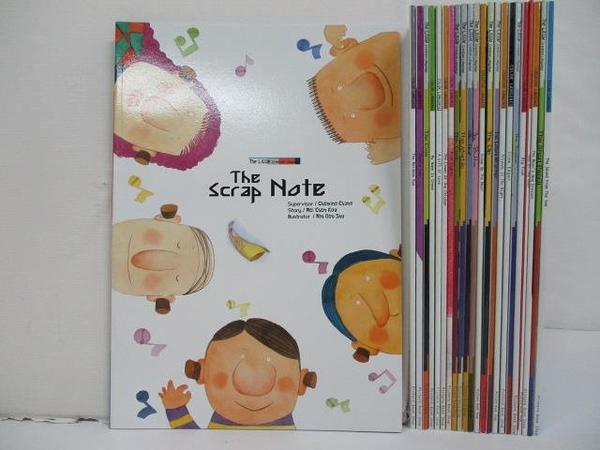 【書寶二手書T9/少年童書_FHN】繪本語言系列-The Scrap Note等_23本合售_附殼