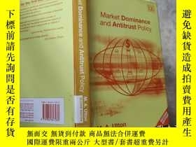 二手書博民逛書店MARKET罕見DOMINANCE AND ANTITRUST