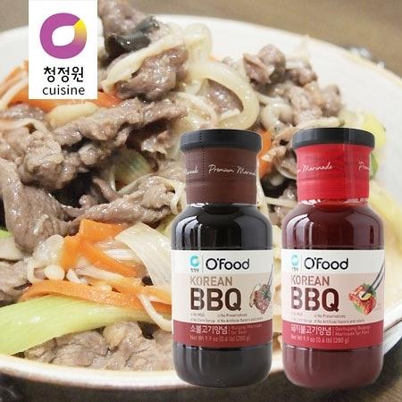 韓國 大象 醃烤調味醬 (單罐) 280g 原味 辣味 調味醬 烤肉醬 燒肉醬 醃烤醬 調味 燒肉 烤肉 中秋