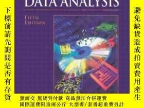 二手書博民逛書店Multivariate罕見Data Analysis (5th
