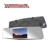 MANHATTAN RS3C 高畫質後視鏡行車紀錄器+16G記憶卡