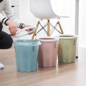 塑料壓圈垃圾桶大號紙簍
