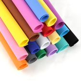 海綿紙彩色厚手工大張幼兒園卡紙diy材料彩色套裝厚泡沫紙海綿紙