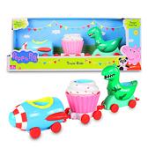 【英國Peppa Pig佩佩豬】粉紅豬小妹歡樂樂園-樂園火車 PE05880