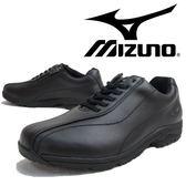 【超低價】MIZUNO 日本大人氣 真皮 WAVE避震寬楦健走鞋LD40 Ⅲ 黑色 B1GD161709 女鞋