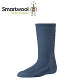 【美國 SmartWool 童健行中級避震中長襪《海軍藍》】SW0SW190/保暖/戶外/運動襪