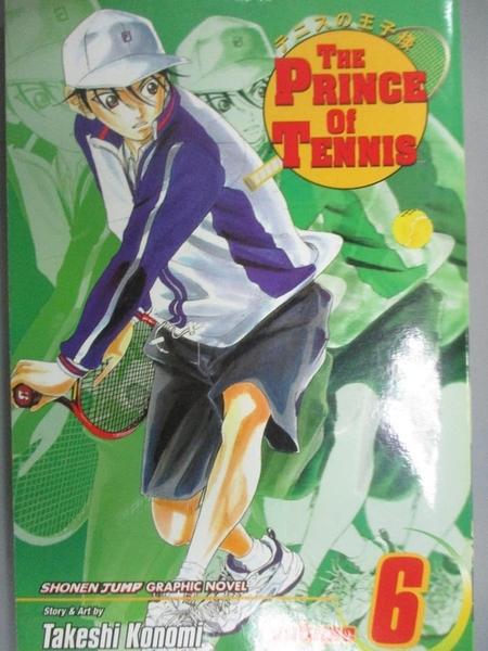 【書寶二手書T1/少年童書_IFZ】The Prince of Tennis 6: Sign of Strength_Konomi, Takeshi/ Jones, Gerard