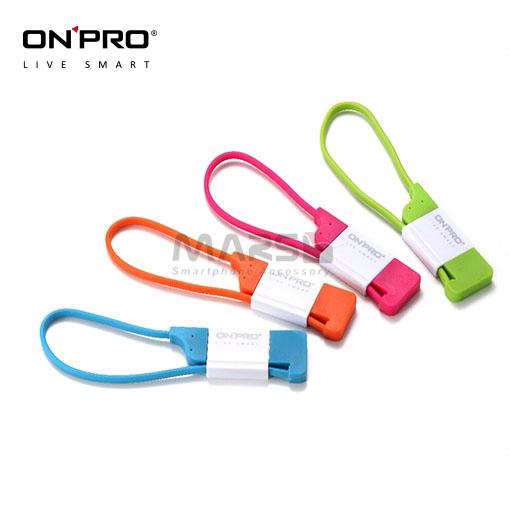 【marsfun火星樂】(完售) ONPRO Micro USB 急速 充電傳輸線 UC-MB2A18 充電線 數據線 安卓 快充 2a 鑰匙圈