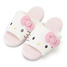 【震撼精品百貨】Hello Kitty 凱蒂貓~HELLO KITTY可愛大臉毛巾布室內拖鞋