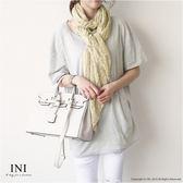【INI】時尚品味、氣質搭配點點棉麻披肩圍巾.七色