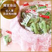 [療癒甜點]仙人掌抹茶馬林糖X50份+大提籃X1個-幸福朵朵婚禮小物.擺桌禮.情人節禮物.生日分享