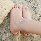 925純銀銅錢鈴鐺腳鍊女有聲宮鈴性感