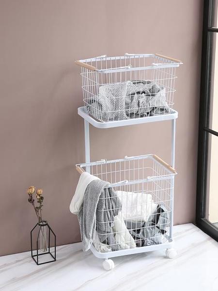 防水臟衣籃 浴室放干凈衣物的贓藍框衛生間裝衣婁桶 臟衣服收納筐 8號店WJ