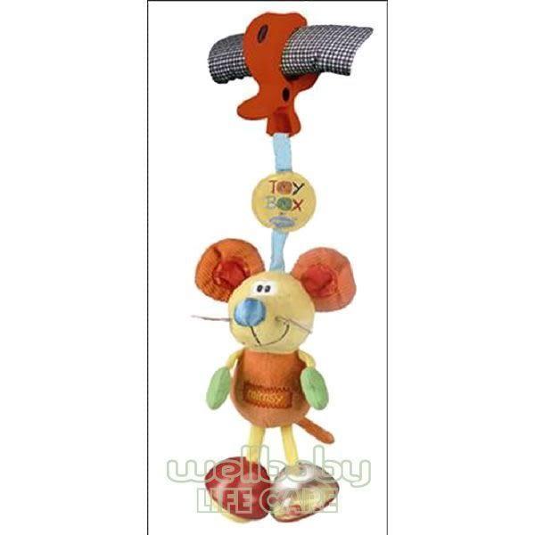 Playgro 叮噹鼠推車吊飾玩具