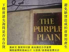 二手書博民逛書店英文原版:THE罕見PURPLE PLAIN(32開硬精裝)Y1