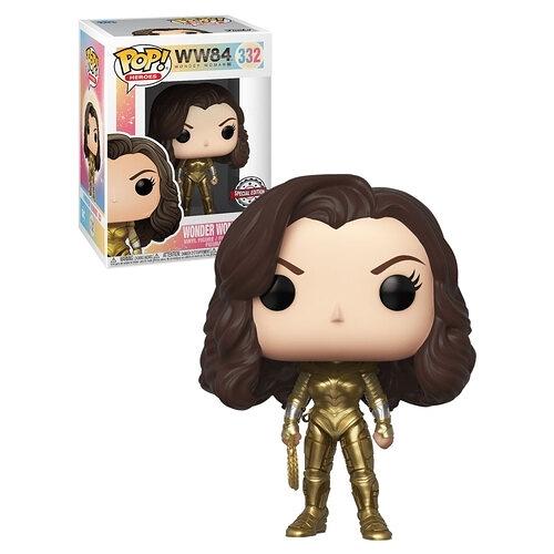 【 Funko 】POP電影系列 神力女超人 1984 金色戰鬥裝 無頭盔版 / JOYBUS玩具百貨