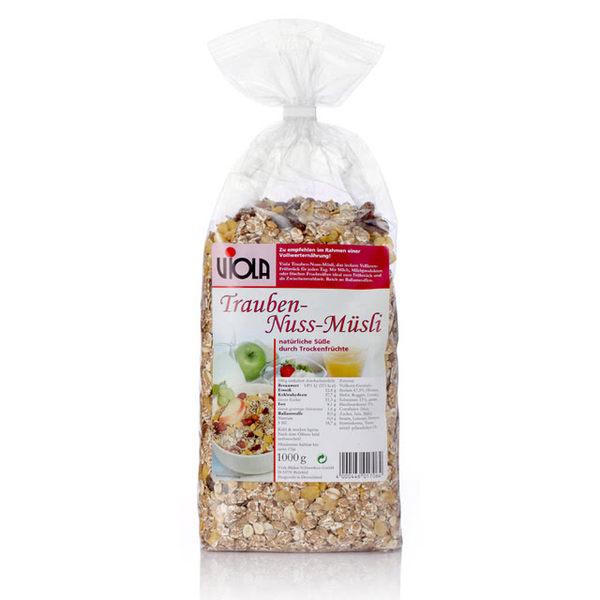【VIOLA 麥維樂】德國葡萄堅果穀片 -天然亞麻子添加(1000g)