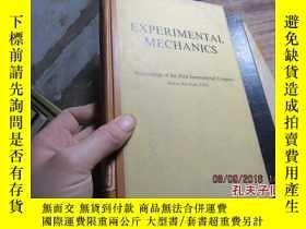 二手書博民逛書店experimental罕見mechanics 精 201419