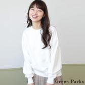❖ Hot item ❖  素面圓領羅紋針織上衣 - Green Parks
