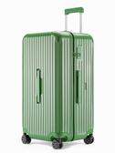 超大容量密碼拉桿箱拉鏈ins網紅炫彩旅行箱24寸女行李箱男