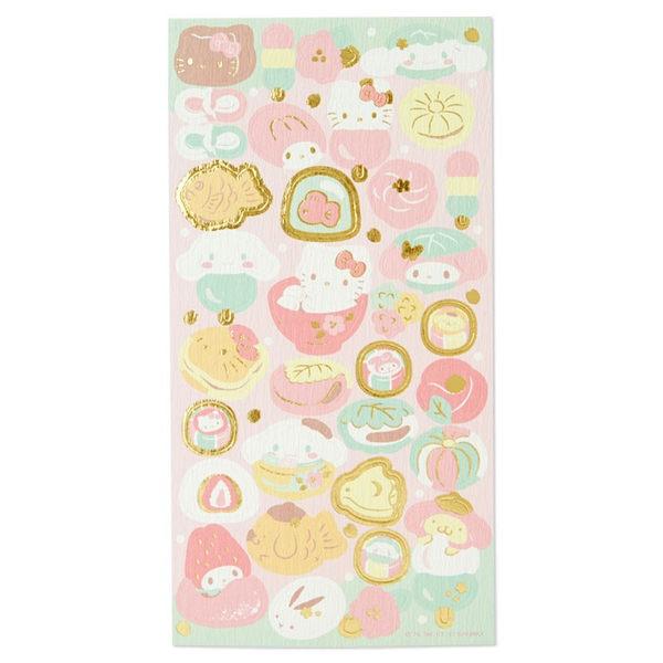 日本kitty美樂蒂大耳狗布丁狗貼紙裝飾貼行事曆貼春和409626通販屋