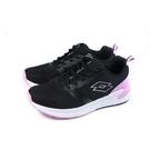 LOTTO 運動鞋 針織 黑/粉紅 童鞋 LT0AKR1813 no034