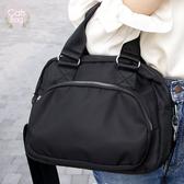 Catsbag|簡約質感三層防潑水二用手提斜背包|BV009